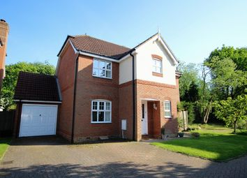 Thumbnail 4 bed detached house for sale in Barker Close, Arborfield, Reading