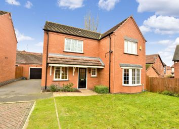 Thumbnail 4 bed detached house for sale in Albermarle Close, Humberstone, Leicester