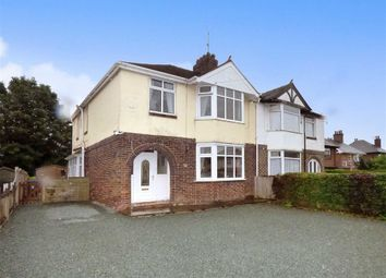 Thumbnail 3 bedroom semi-detached house for sale in Congleton Road North, Church Lawton, Stoke-On-Trent