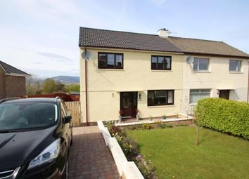 Thumbnail 3 bed semi-detached house for sale in Moorfoot Drive, Gourock, Inverclyde