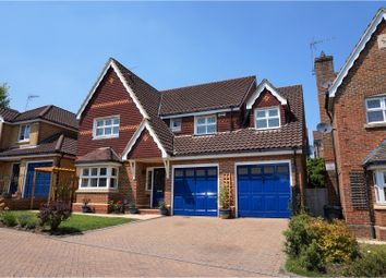 Thumbnail 5 bed detached house for sale in Strathcona Gardens, Woking