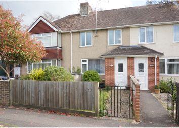 Thumbnail 2 bed terraced house for sale in Cheam Way, Totton