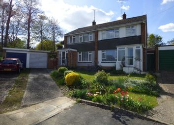 Thumbnail 3 bed semi-detached house for sale in Chestnut Close, Newport