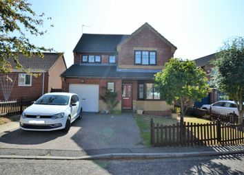 Thumbnail 4 bed detached house for sale in John Chapman Close, Fakenham