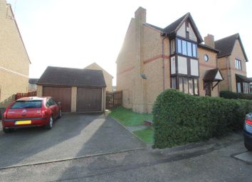 Thumbnail 3 bed detached house to rent in Crowborough Lane, Kents Hill, Milton Keynes