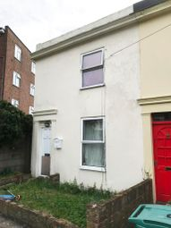 Thumbnail 2 bed end terrace house for sale in 1 Cambridge Terrace, Off St Michaels Street, Folkestone, Kent