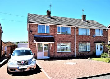 Thumbnail 3 bed semi-detached house for sale in Alandale Avenue, Shirebrook, Mansfield