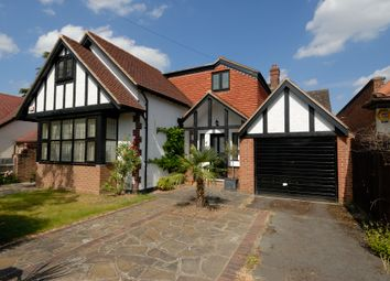 Thumbnail 4 bedroom detached house to rent in Riversdale Road, Thames Ditton