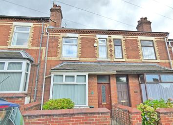 Thumbnail 3 bed terraced house to rent in Vessey Terrace, Newcastle-Under-Lyme
