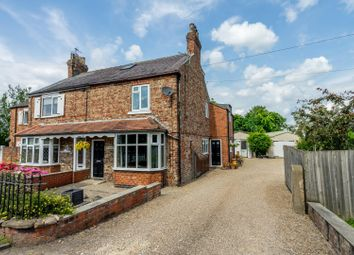 Thumbnail 4 bed semi-detached house for sale in Hull Road, Dunnington, York