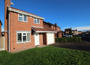 Thumbnail 3 bed detached house to rent in Crest Close, Stretton, Burton-On-Trent