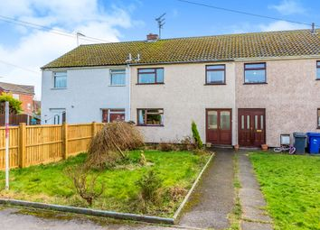 Thumbnail 3 bed terraced house for sale in Riversfield Drive, Rocester, Uttoxeter