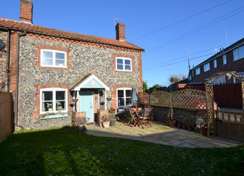 Thumbnail 2 bed semi-detached house for sale in Fen Lane, East Harling, Norwich, Norfolk.