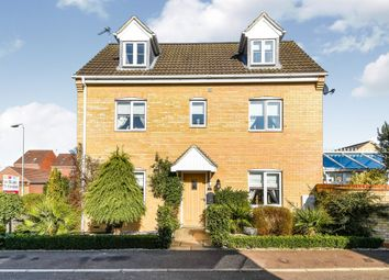 Thumbnail 4 bed link-detached house for sale in Snowdrop Close, West Lynn, King's Lynn