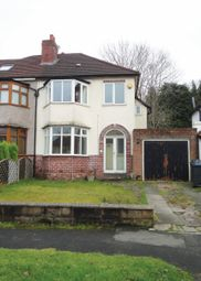 Thumbnail 3 bed semi-detached house for sale in Egginton Road, Hall Green, Birmingham, West Midlands