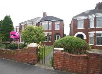 Thumbnail 3 bedroom semi-detached house to rent in Sutton Road, Hull