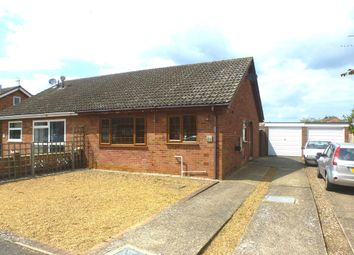 Thumbnail 2 bedroom semi-detached bungalow for sale in Blackbird Road, Beck Row, Bury St. Edmunds