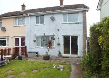 Thumbnail 3 bed end terrace house for sale in Gwilliam Court, Monkton, Pembroke