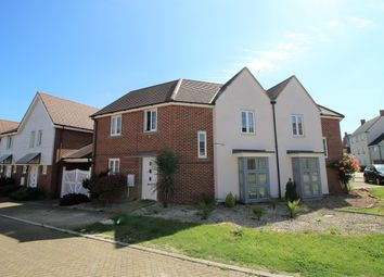 Thumbnail 3 bed semi-detached house for sale in Merryweather Way, Marnel Park, Basingstoke