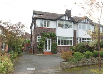 Thumbnail 4 bed semi-detached house for sale in Highfield Road, Hale, Altrincham