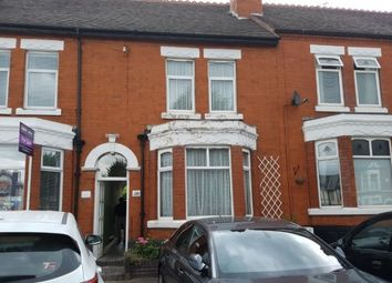 Thumbnail 3 bedroom terraced house to rent in Camphill Road, Nuneaton