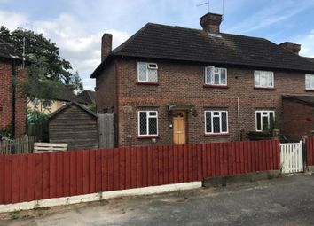 Thumbnail 3 bed semi-detached house for sale in Lasswade Road, Chertsey, Surrey