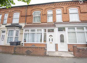 Thumbnail 3 bed terraced house for sale in Osborn Road, Sparkbrook, Birmingham