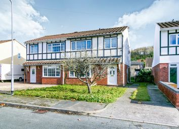 Thumbnail 3 bed semi-detached house for sale in Greenacres, South Cornelly, Bridgend