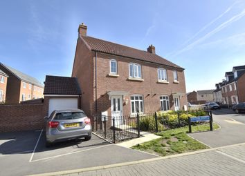 Thumbnail 3 bedroom semi-detached house for sale in Lossiemouth Road, Kingsway, Quedgeley, Gloucester