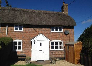Thumbnail 1 bed semi-detached house to rent in Stibb Green, Burbage, Marlborough