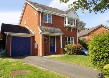 Thumbnail 3 bedroom detached house for sale in Waterdown Close, Swindon