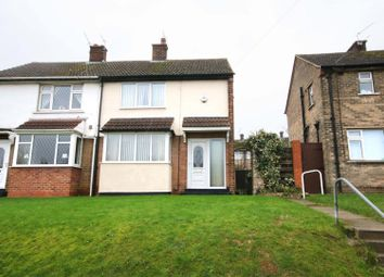 Thumbnail 2 bed semi-detached house for sale in Broomhouse Lane, Edlington, Doncaster