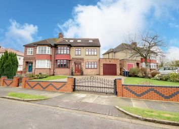 Thumbnail 6 bed semi-detached house for sale in Langham Gardens, Grange Park