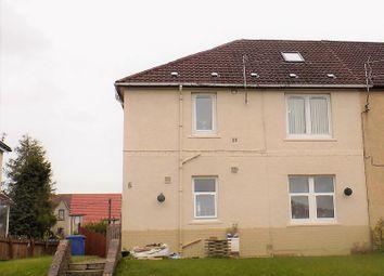 Thumbnail 3 bed flat for sale in Glen Crescent, Glen Village, Falkirk