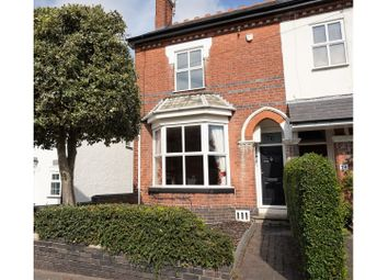 Thumbnail 4 bed end terrace house for sale in Wood Road, Tettenhall Wood, Wolverhampton