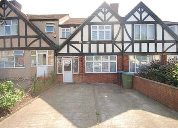 Thumbnail 3 bed end terrace house to rent in Woodstock Road, Wembley, Middlesex