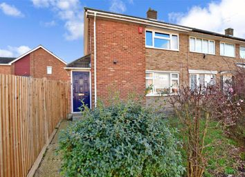 Thumbnail 3 bedroom end terrace house for sale in Salcote Road, Riverview Park, Gravesend, Kent