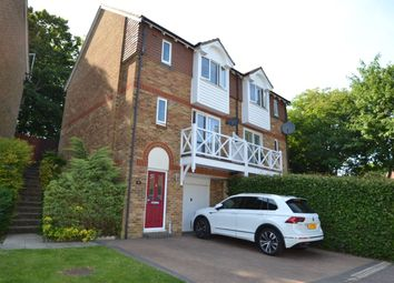 Thumbnail 3 bedroom semi-detached house for sale in Round Wood Close, Walderslade Woods, Chatham