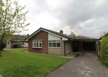 Thumbnail 3 bed bungalow to rent in Gonville Avenue, Sutton, Macclesfield