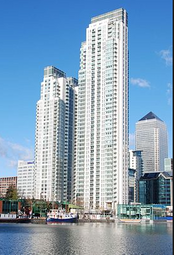 Thumbnail 2 bed flat for sale in 1 Pan Peninsula Square, London
