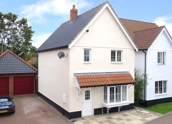 Thumbnail 3 bed detached house for sale in Muriel King Close, Hessett, Bury St. Edmunds