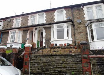 Thumbnail 3 bed terraced house for sale in Conway Road, Cwmparc, Treorchy