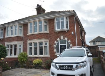 Thumbnail 4 bed semi-detached house for sale in Bentinck Avenue, Blackpool