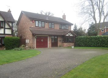 Thumbnail 4 bed detached house for sale in Heathergate Place, Wistaston, Crewe