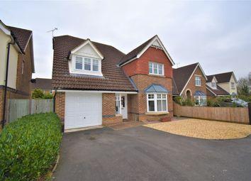 Thumbnail 4 bed detached house for sale in Bittern Close, Aldershot