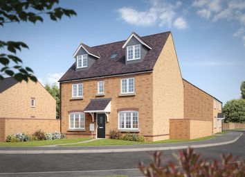 "Thumbnail 5 bed detached house for sale in ""The Newton"" at King Street Lane, Winnersh, Wokingham"