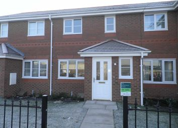 Thumbnail 3 bed terraced house to rent in Bewsey Road, Warrington, Warrington, Cheshire