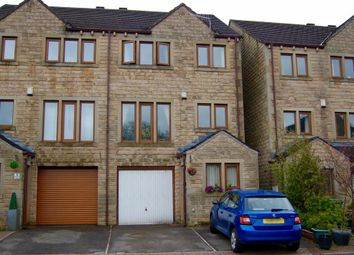 Thumbnail 3 bed town house for sale in Deer Hill Close, Marsden, Huddersfield