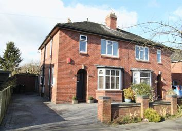Thumbnail 3 bed semi-detached house for sale in Emery Avenue, Newcastle-Under-Lyme