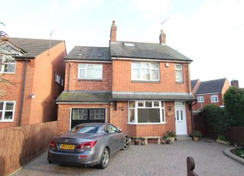 Thumbnail 4 bed detached house for sale in Bagworth Road, Newbold Verdon, Leicester